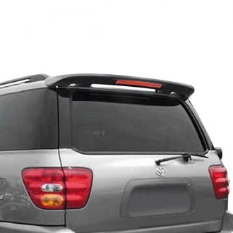 Remin® - Custom Style Rear Roofline Spoiler with Light (Painted)