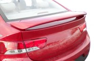 Remin® - Custom Style Rear Spoiler with Light - 2DR
