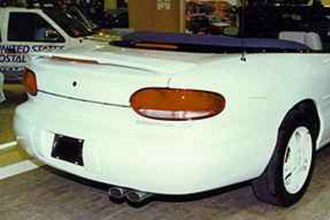 Remin® - Custom Style Rear Spoiler with Light - 4DR