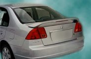Remin® - Factory Style Rear Spoiler with Light - 4DR