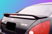 Remin® 394L - Custom Style Rear Spoiler with Light (Unpainted)