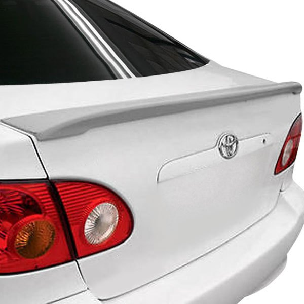 remin toyota corolla 2003 2008 factory style rear lip. Black Bedroom Furniture Sets. Home Design Ideas