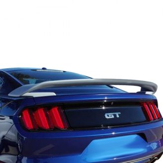 2017 ford mustang spoilers custom factory lip wing. Black Bedroom Furniture Sets. Home Design Ideas