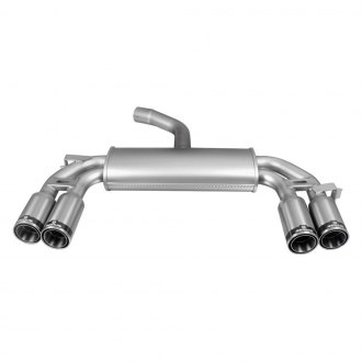 Remus® - Stainless Steel Sport Cat-Back Exhaust System with Quad Rear Exit