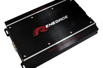 Renegade® - MK3 4-Channel Class D 1100W Amplifier