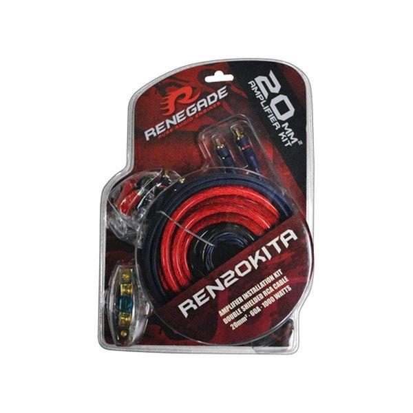 Xscorpion Epak8r 8 Gauge Amplifier Amp Wiring Kit With Red Power Wire