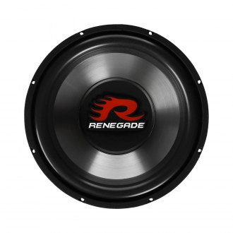 "Renegade® - 12"" RXW Series 600W 4 Ohm DVC Subwoofer"