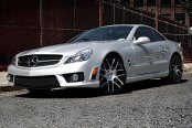 RENNEN® - M7 Custom Painted on Mercedes SL Class