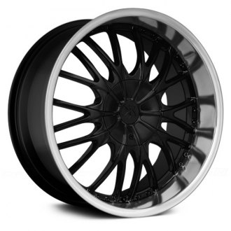 RENNEN® - RC MESH Hyper Black with Machined Lip