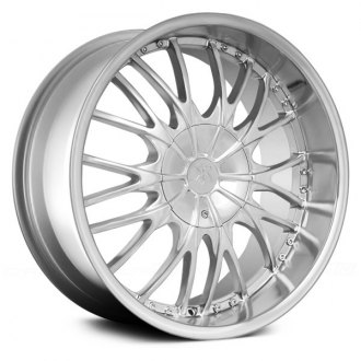 RENNEN® - RC MESH Silver with Machined Lip
