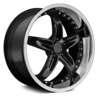 RENNEN® - RC2 Gloss Black with Chrome Lip