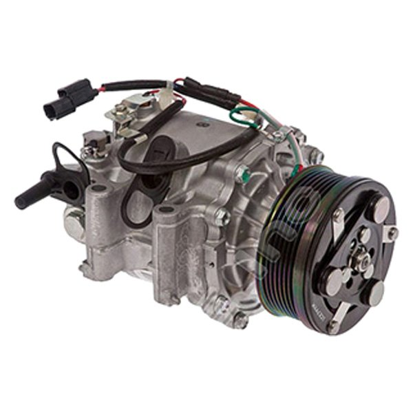 Replace honda civic with factory compressor type trse07 for Honda civic ac compressor replacement cost
