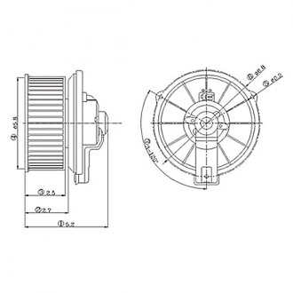 Replace® - HVAC Blower Motor
