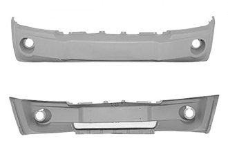 Replace® CH1000450C - Front Bumper Cover