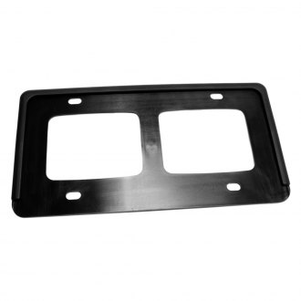 Replace® - Black License Plate Holder