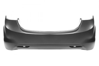 Replace® HY1100180C - Rear Bumper Cover