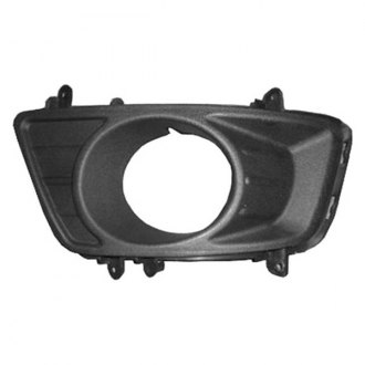 Replace® - Front Driver Side Bumper Fog Light Bezel