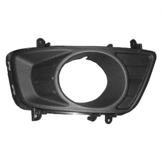 Replace® - Front Passenger Side Bumper Fog Light Bezel