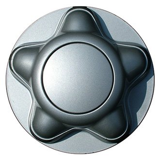 "Replace® - 7 1/16"" Remanufactured Silver Pops on Lugs Wheel Center Cap"