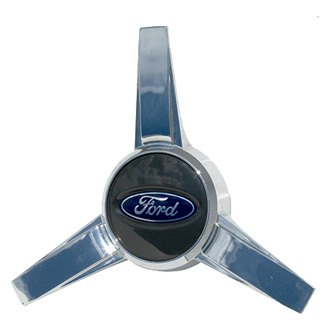 Replace® - Remanufactured Gray Wheel Center Cap With Ford Logo