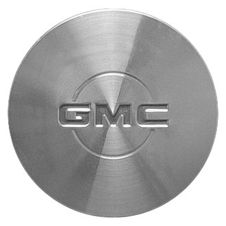 Replace® - Remanufactured Machined Wheel Center Cap With Red GMC Letters