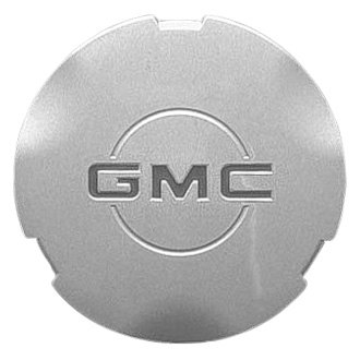 Replace® - Remanufactured Polished Wheel Center Cap With Red GMC Logo