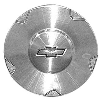 Replace® - Remanufactured Machined Wheel Center Cap With Gold Bowtie