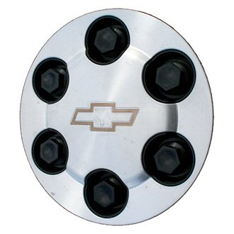 Replace® - Remanufactured Machined Wheel Center Cap With Bowtie