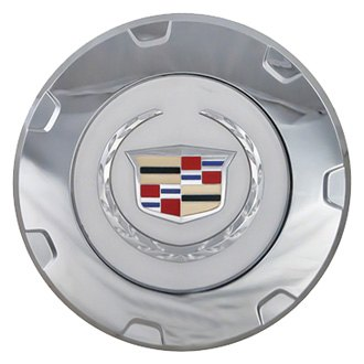 Replace® - Remanufactured Chrome Wheel Center Cap With Silver Inserts