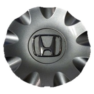 Replace® - Remanufactured Silver Wheel Center Cap With Raised Chrome Logo