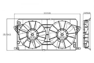 Replace® - Dual Fan Assembly