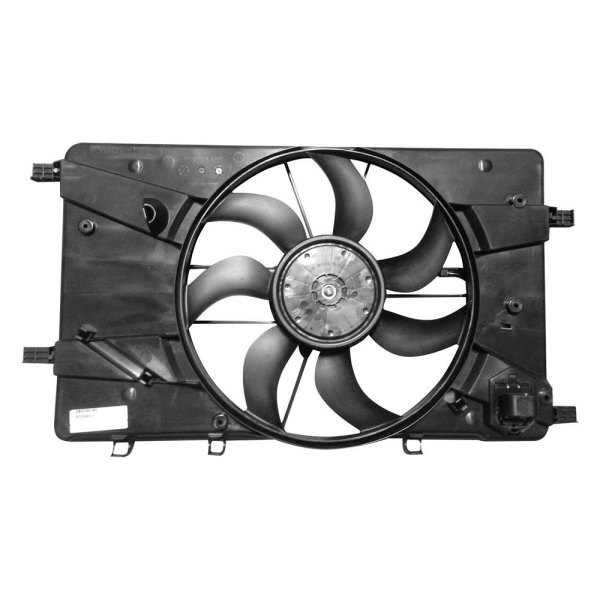 service manual  how to install cooling fan in a 2013 rolls