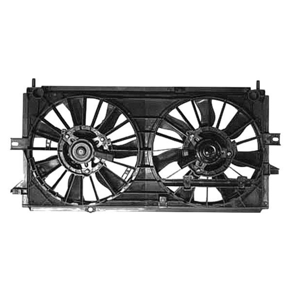 Replace 174 Chevy Monte Carlo 2000 Radiator Fan Assembly
