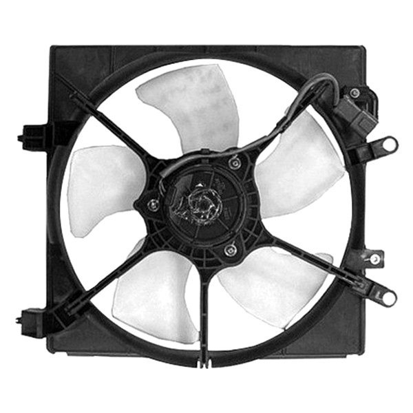 Replacement Motor Cooling Fans : Replace honda civic l radiator fan assembly