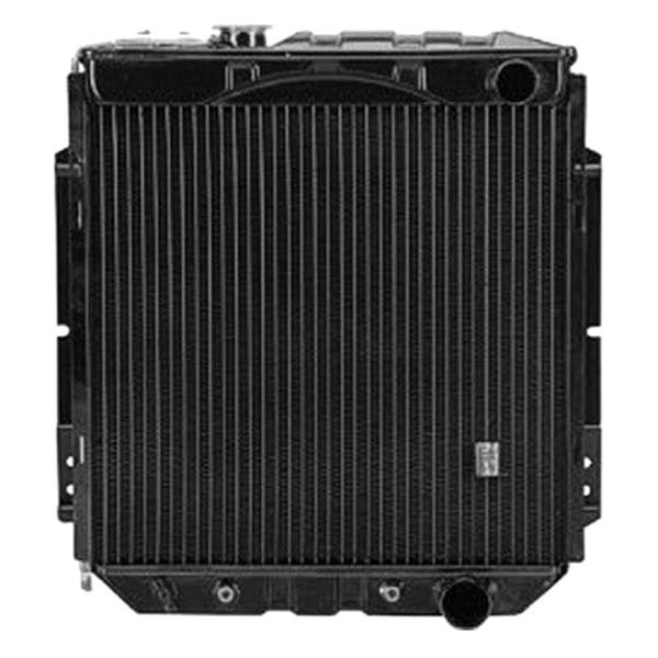 Replace ford mustang engine coolant radiator
