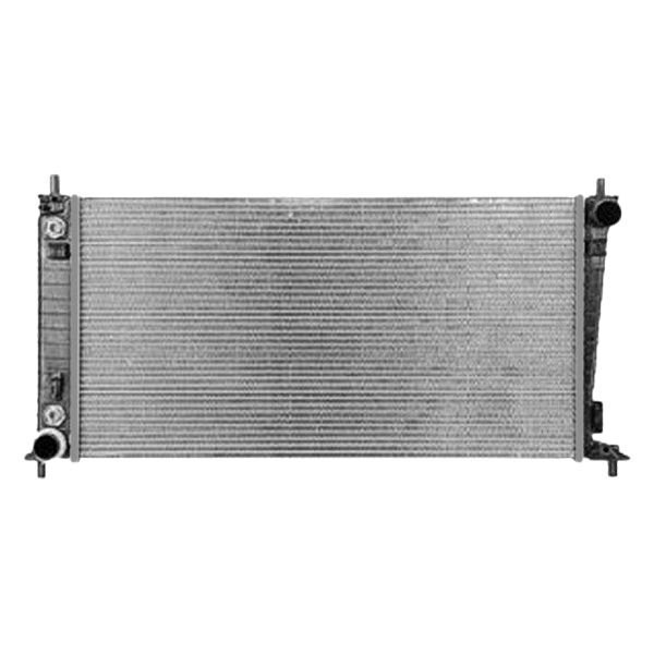 Replace ford expedition  engine coolant radiator