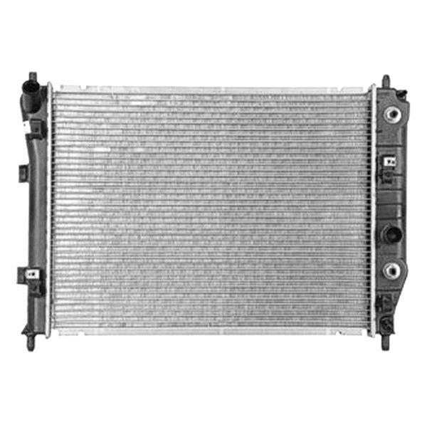 Chevrolet Engine Coolant : Replace chevy corvette  radiator