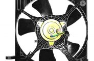 Replace® - A/C Condenser Fan Assembly (with AC)