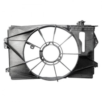 Replace® - Radiator Fan Shroud