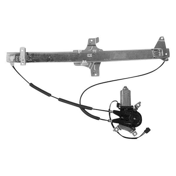 Replace Fo1351129 Front Passenger Side Power Window Regulator With Motor