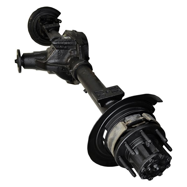 Ford Rear Axle Assembly : Replace ford f super duty rear disc brakes