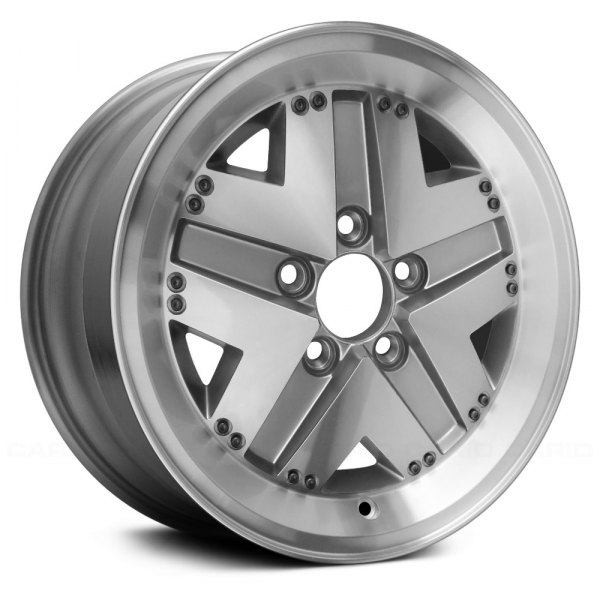 "Replace® - 15"" Remanufactured 5 Spokes Standard Finish Factory Alloy Wheel"