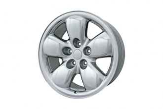 "Replace® - 20"" Remanufactured 5-Spoke Bright Polished Factory Alloy Wheel"