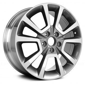 2015 jeep patriot replacement factory wheels rims. Black Bedroom Furniture Sets. Home Design Ideas