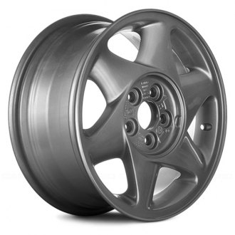"Replace® - 16"" Remanufactured 6 Slots Argent Factory Alloy Wheel"