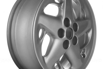 "Replace® - 16"" Remanufactured 5 Star Spokes Sparkle Silver Factory Alloy Wheel"