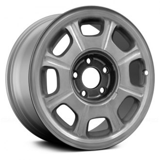 "Replace® - 16"" Remanufactured 8 Spokes Silver Factory Alloy Wheel"