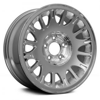 "Replace® - 16"" Remanufactured 16 Oval Vents Chrome Factory Alloy Wheel"