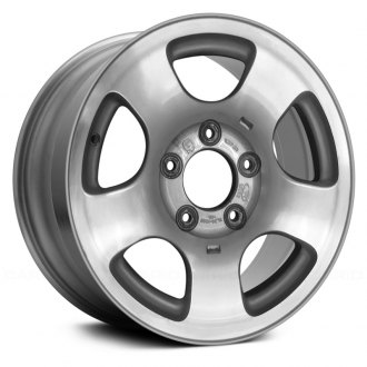 "Replace® - 16"" Remanufactured 5 Straight Spokes Factory Alloy Wheel"