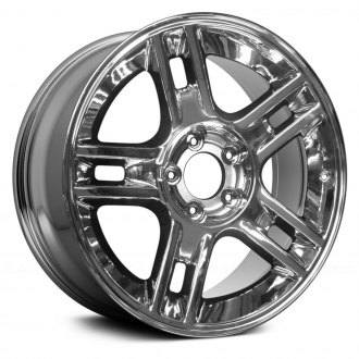 "Replace® - 20"" Remanufactured 5-Spoke Chrome Factory Alloy Wheel"